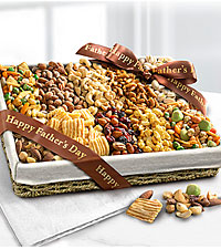Father 's Day Nut & Snack Tray
