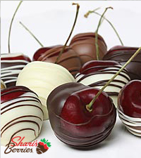 Golden Edibles™ Belgian Chocolate Covered Cherries