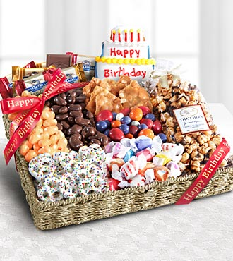 Birthday Festive Feasting Snack Tray - Best