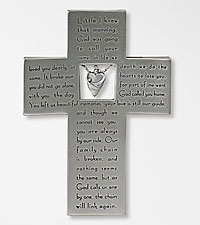 God Called Your Name Memorial Wall Cross