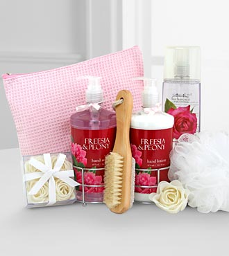 Peaceful Peony & Freesia Spa Set - Better