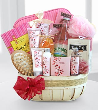Pampering Cherry Blossom Spa Set - Best