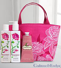 Crabtree & Evelyn Rosewater Daily Indulgences