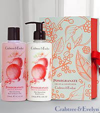 Crabtree & Evelyn Pomegranate Perfect Pair