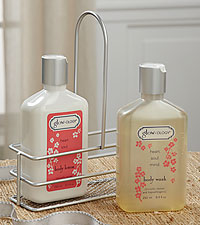 Glow-ology ® Cherry Blossom Body Wash & Lotion Set