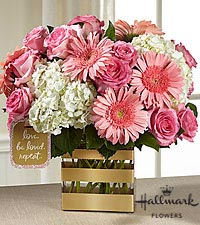 The FTD ® Love Bouquet by Hallmark - VASE INCLUDED