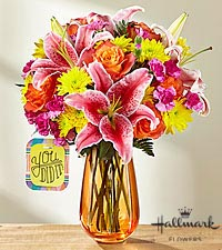 The FTD ® You Did It!™ Bouquet by Hallmark - VASE INCLUDED