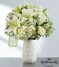 The FTD ® Loved, Honored and Remembered™ Bouquet by Hallmark - VASE INCLUDED