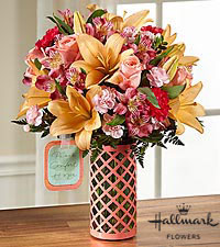 The FTD ® Peace, Comfort and Hope™ Bouquet by Hallmark - VASE INCLUDED