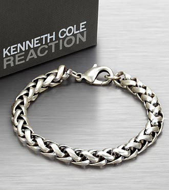 Kenneth Cole® Reaction Men's Woven Link Bracelet
