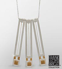 Frank Lloyd Wright® Oak Park Tulip Necklace