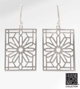 Frank Lloyd Wright&reg; Rookery Balustrade Earrings