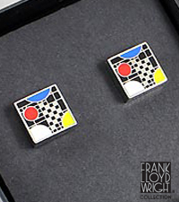 Frank Lloyd Wright® Coonley Playhouse Cufflinks