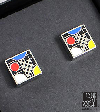 Frank Lloyd Wright&reg; Coonley Playhouse Cufflinks