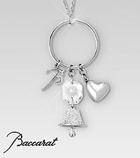 Baccarat Charm Sterling Silver Necklace