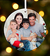 Personal Creations ® Picture a Perfect Christmas Ornament