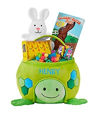 Personal Creations ® Furry Friend Easter Basket - Turtle with Candy