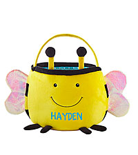 Personal Creations ® Furry Friend Easter Basket - Bumble Bee