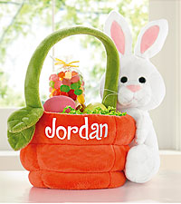 Personal Creations ® Plush Bunny Basket