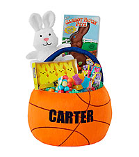 Personal Creations ® Sports Star Basket - Basketball with Candy