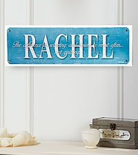 Personal Creations ® Personalized Your Life Counts Motivational Sign