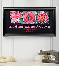Personal Creations ® Personalized Another Name for Love Print - Mom
