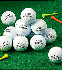 Personal Creations ® Personalized Name Golf Balls - 1 Dozen