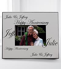 Personalized Anniversary Wishes Photo Frame