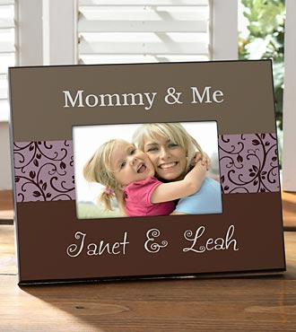 Personalized Mommy & Me Full Color Frame