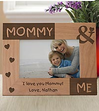 Personalized Mommy & Me Wood Frame