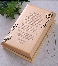 Personalized Poem for Her Jewelry Box