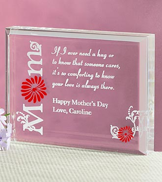 Personalized Mother's Engraved Keepsake