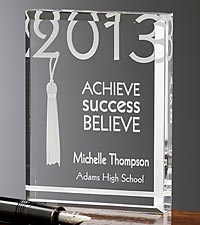 Personalized Graduation 2013 Inspiration Keepsake