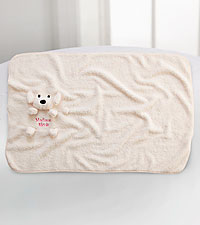 Personal Creations ® My Pet Blankie - Dog - Pink