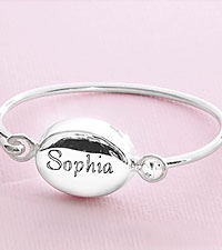 Personal Creations ® Child 's Bangle Bracelet