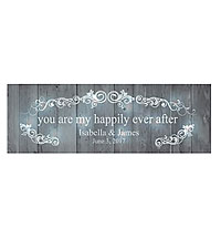 Personal Creations ® TwinkleBright™ LED You Are My Happily Ever After Canvas - Gray