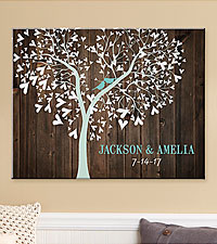 Personal Creations ® Sweet Lovebirds Canvas
