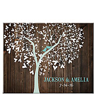 Personal Creations ® Sweet Lovebirds Canvas - 11x14
