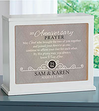 Personal Creations ® Anniversary Prayer Accent Light