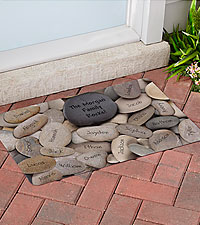 Personal Creations ® Family Rocks Doormat