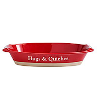 Personal Creations ® Ceramic Baking Dish - Red