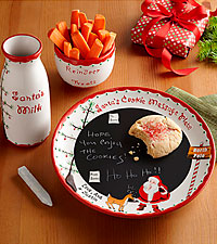 Personal Creations ® Dear Santa Message Plate Set