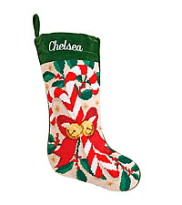 Personal Creations ® Needlepoint Stocking - Candy Cane