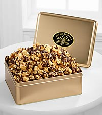 Kernel Fabyan's Chocolate Drizzled Caramel Gourmet Popcorn