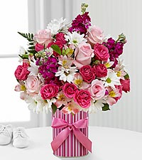 The FTD ® Little Miracle™ Bouquet - Girl