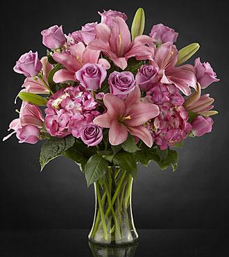 Magnificent Luxury Rose Bouquet - 24-inch Premium Long Stem Roses - VASE INCLUDED
