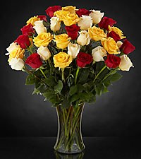 Joyful Luxury Rose Bouquet - 36 Stems of 24-inch Premium Long-Stemmed Roses