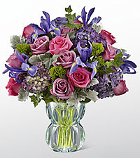 The FTD ® Lavender Luxe™ Luxury Bouquet - VASE INCLUDED