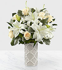 The FTD ® Pure Opulence™ Luxury Bouquet - VASE INCLUDED