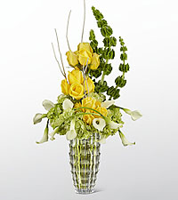 The FTD ® Illuminate™ Luxury Bouquet - VASE INCLUDED